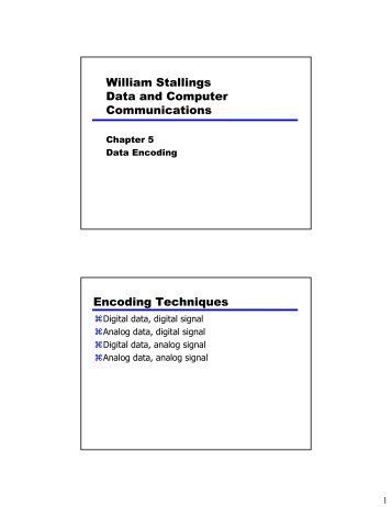 William Stallings Data And Computer Communications Terminology