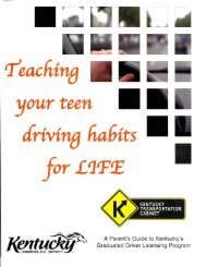 teaching your teen driving habit. for LITE - Nicholas County