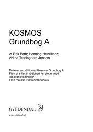 KOSMOS Grundbog A - Syntetisk tale