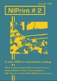 NPD in den Sächsischen Landtag - Nazis in den Parlamenten
