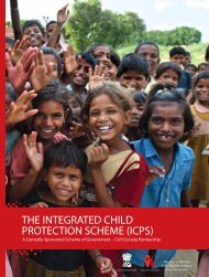 THE INTEGRATED CHILD PROTECTION SCHEME (ICPS) - Nipccd