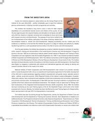 From the Director's Desk - Nipccd