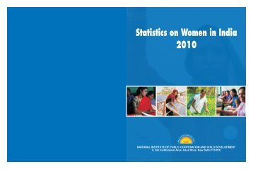 Statistics on Women in India 2010 - Nipccd