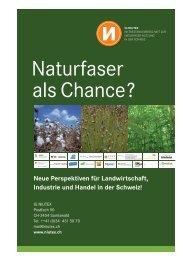 Naturfasern als Chance - NIUTEX 2010