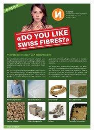Do You Like Swiss Fibres?» (4 Seiten A4) - NIUTEX 2010