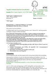 ANU - Arbeitsgemeinschaft Natur- und Umweltschutz Nagold