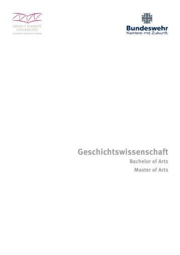 (Bachelor-/ Master of Arts) (PDF, 141 kB) - bundeswehr-karriere