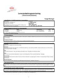 Chemtox Miljøsystem 5.x - Print - P.Lindberg A/S