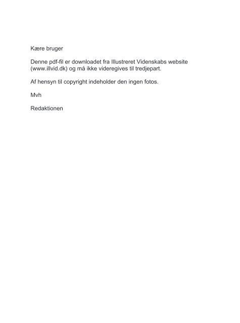 (www.illvid.dk) og må ikke videregives til tredjepa - Illustreret ...
