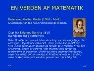 Vagn Lundsgaard, Verdens Matematik