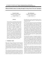 Efficient Reinforcement Learning through Evolving Neural Network ...