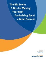 The Big Event: 5 Tips for Making Your Next Fundraising Event a ...
