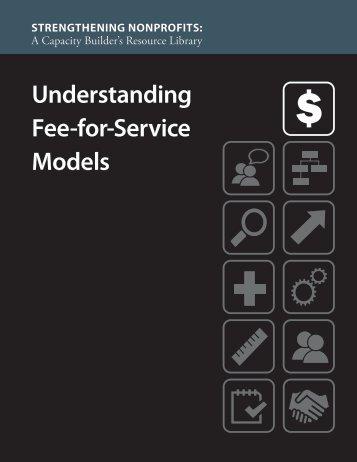 Understanding Fee-for-Service Models - Strengthening Nonprofits