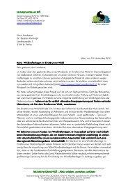NB-NOE ? Brief als PDF - waldschutz.at