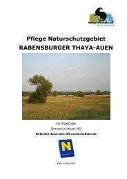 Pflege Naturschutzgebiet RABENSBURGER THAYA-AUEN