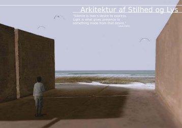 Arkitektur af Stilhed og Lys - Iben Kaalund