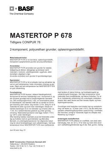 Mastertop P 678.qxp - BASF