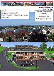 Leveringsbeskrivelse - Byggservice Egersund AS