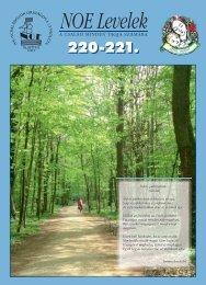 220-221. számú NOE Levelek - Nagycsaládosok Országos Egyesülete