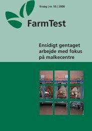 Ensidigt gentaget arbejde med fokus på malkecentre - LandbrugsInfo