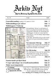 29 2009-1 (PDF) - Vinderup Egnshistoriske Forening