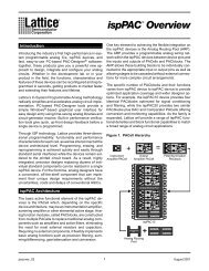 ispPAC Overview - Lattice Semiconductor