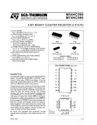 M74HC590 - Elektronika.lt