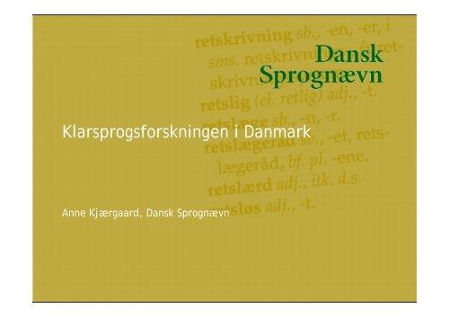 Diagnose af sprog fra det offentlige - Nordisk Sprogkoordination