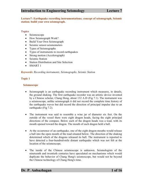 Nptel civil engineering lectures pdf