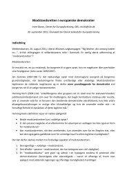Modstandsretten i europæiske demokratier - OpenArchive@CBS