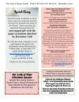 Our Lady of Hope Parish FIRST SUNDAY OF ADVENT December 2 ... - Page 7