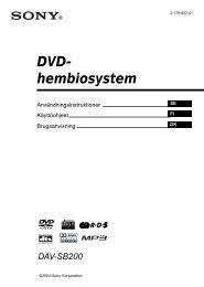 DVD- hembiosystem