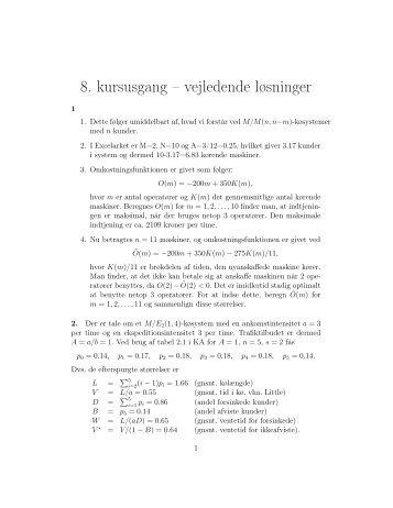 vejledende eksamensopgaver matematik b
