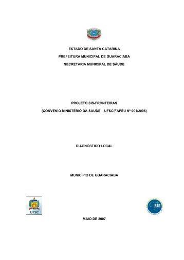 Guaraciaba - Ministério da Saúde