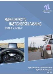 Energieffektiv hastighedstilpasning - Aalborg Universitet