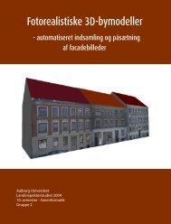 Fotorealistiske 3D-bymodeller - Aalborg Universitet