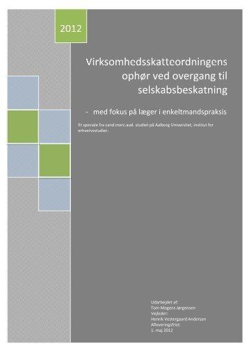 2012 - Aalborg Universitet