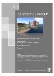 Masterprojekt - Aalborg Universitet