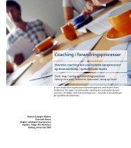 Coaching i teamproceser - Aalborg Universitet