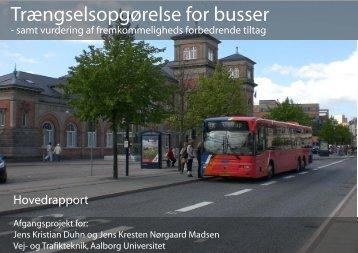 Trængselsopgørelse for busser - Aalborg Universitet