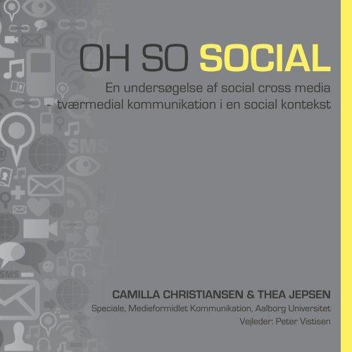 social cross media - Aalborg Universitet