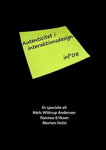 Speciale - Aalborg Universitet