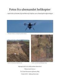 Fotos fra ubemandet helikopter - Aalborg Universitet