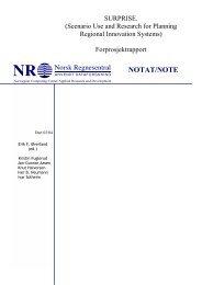 NOTAT/NOTE - Index of - Norsk Regnesentral