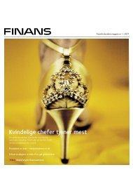 Kvindelige chefer tjener mest - Finansforbundet