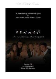 """Venner"""" – Den med tekstningen på dansk og spansk - PURE"""