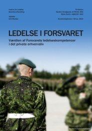 LedeLse i Forsvaret - PURE