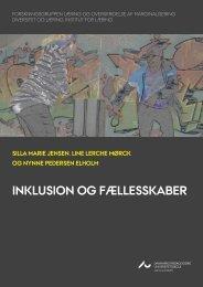 inkluSion og fælleSSkaber - PURE