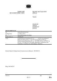 7321/12 alp DG G I RÅDET FOR DE EUROPÆISKE U IO ... - Europa