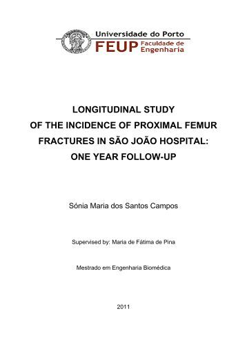 one year follow-up - Repositório Aberto da Universidade do Porto